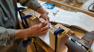 2. Hands of the splicing expert