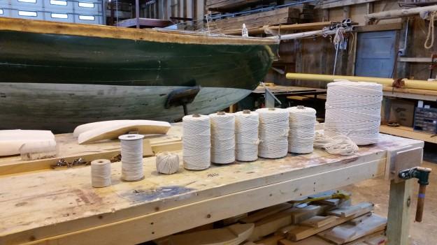1 Supply of manila cordage
