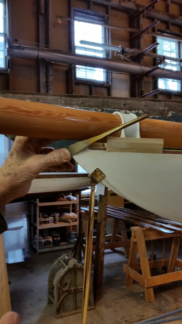 6 Bowsprit Retaining Bar